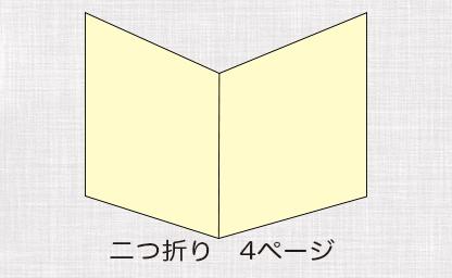 二つ折りイメージ